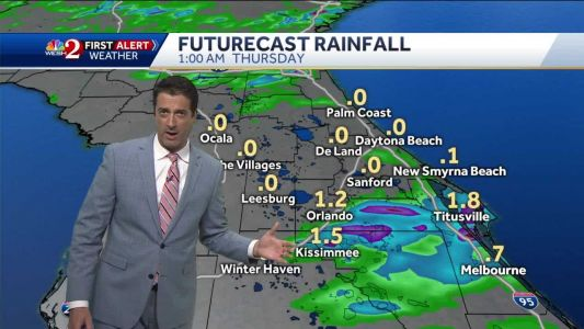 Afternoon showers and storms to continue into Thursday and Friday