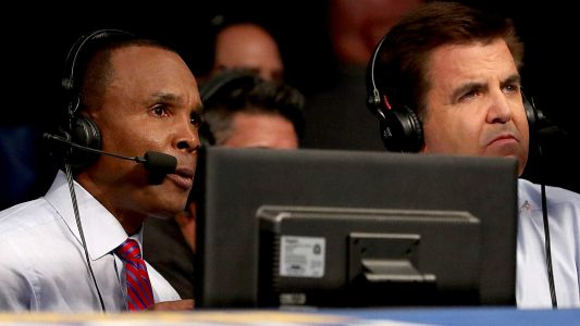Sugar Ray Leonard, Brian Kenny in talks to call DAZN fights, sources say