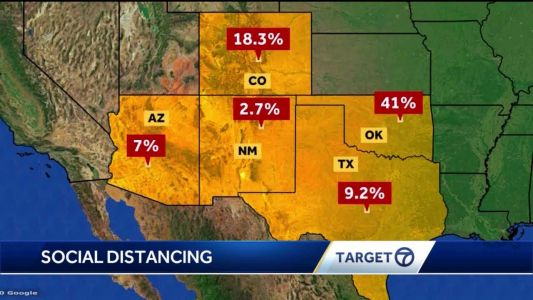 COVID-19 Data: New Mexicans are some of the best in the nation at staing home