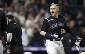 Story hits 2-run homer in 9th, Rockies beat Orioles 8-6