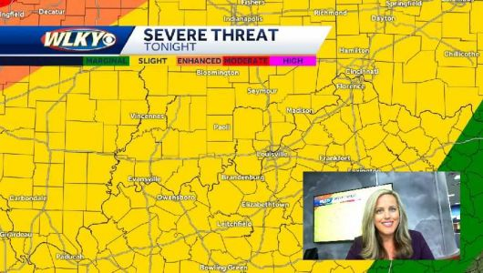 Above Normal Temps, Storms Possible Late