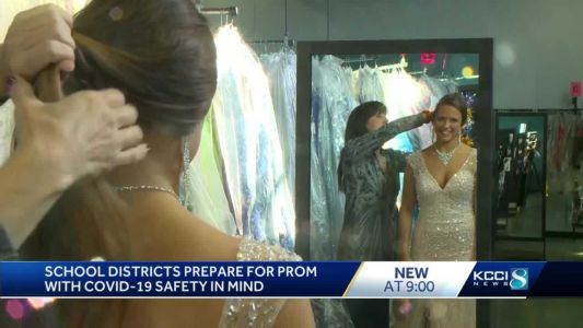High schools restrict guests, add masks for prom this year