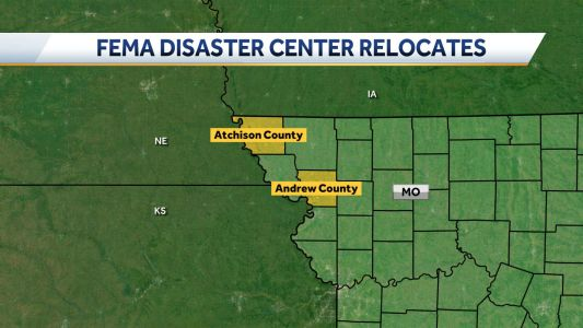 FEMA disaster recovery center relocating to Andrew County
