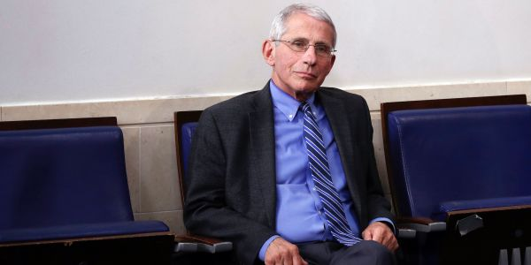 Dr. Fauci says America getting back to normal and where it was before the coronavirus crisis 'might not ever happen' without a vaccine