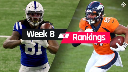 Fantasy TE Rankings Week 8: Who to start, sit at tight end in fantasy football