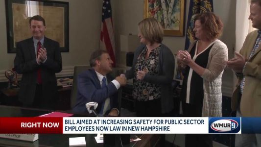 Daughter of NH worker killed on the job successfully pushes for new law