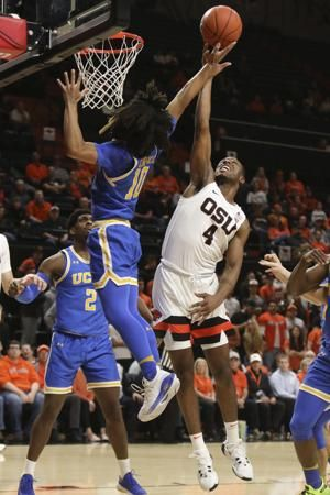 Smith helps UCLA hold off Oregon State 62-58