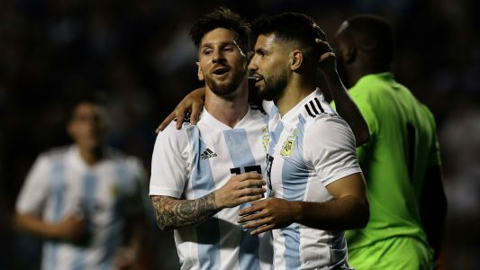 Aguero set to start against Iceland as Sampaoli confirms Argentina XI