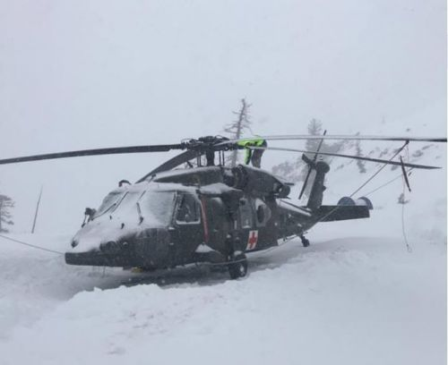 Crews search for missing skier at Bear Valley resort