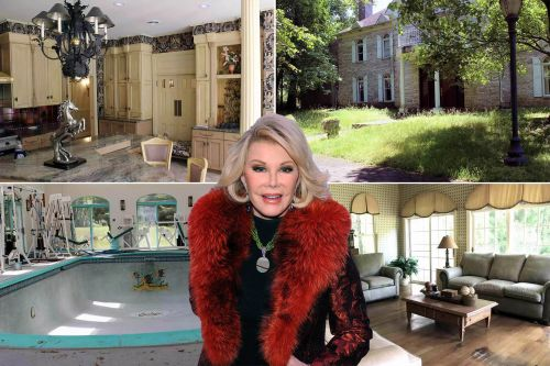 Joan Rivers' abandoned Hollywood-style PA mansion lists for $2.3M