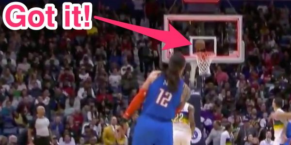Watch Steven Adams hit the most casual three-quarter-court buzzer-beater in NBA history