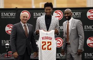 Reddish looks to make new home with Hawks