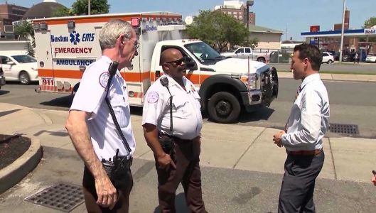 Boston EMTs discuss dangers of their job