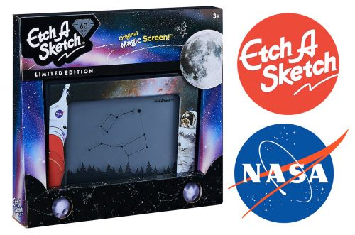 Etch A Sketch draws on NASA for space-themed edition of classic toy