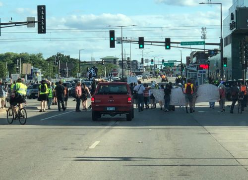 Portions Of Snelling Avenue Southbound Remain Closed Amid Protest March