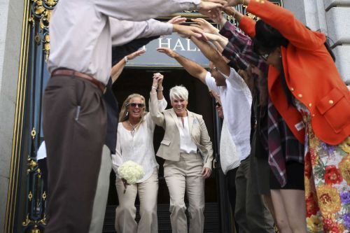 Study: Same-sex weddings have boosted economies by $3.8 billion since gay marriage was legalized