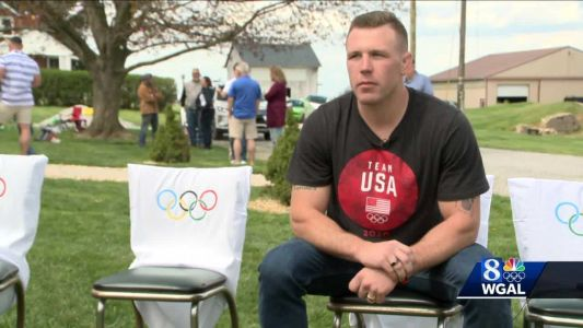 Olympic wrestler returns to York County: 'Coming home helps me realize and appreciate where it all starts from'