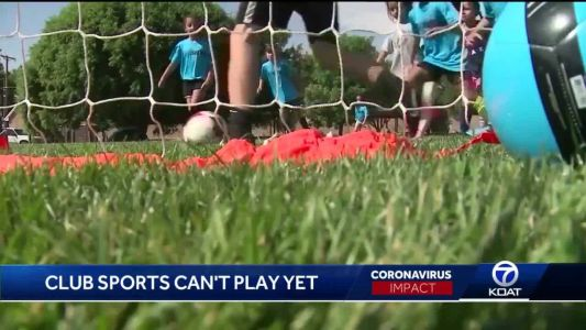 Club and youth sports still benched