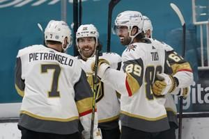 Marc-Andre Fleury, Golden Knights blank Sharks for 2-game sweep
