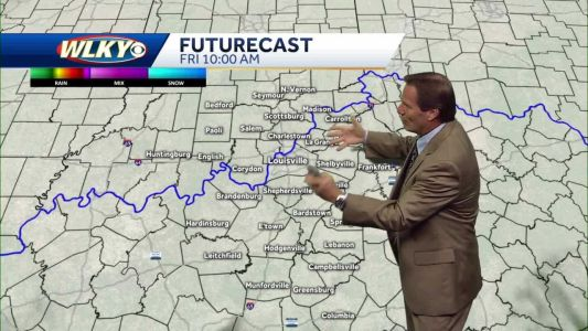 A cloudy and cool Friday expected