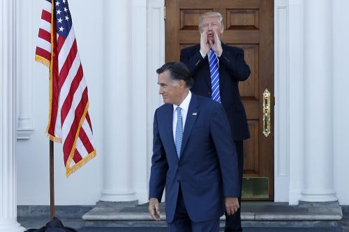 Trump lashes out at Romney