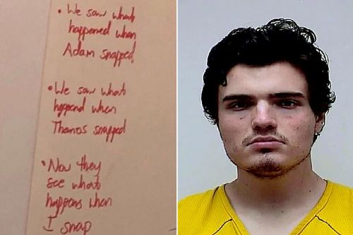 UConn senior Peter Manfredonia scrawled chilling messages on dorm wall