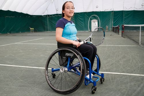 Wheelchair tennis champ: 'My disability doesn't stop me from anything'