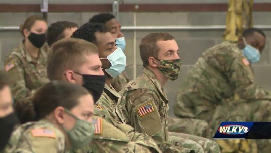 Indiana National Guard undergoes training before serving at long-term care facilities