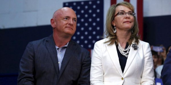 Sen. Martha McSally and Democrat Mark Kelly face off in the special election for US Senate in Arizona