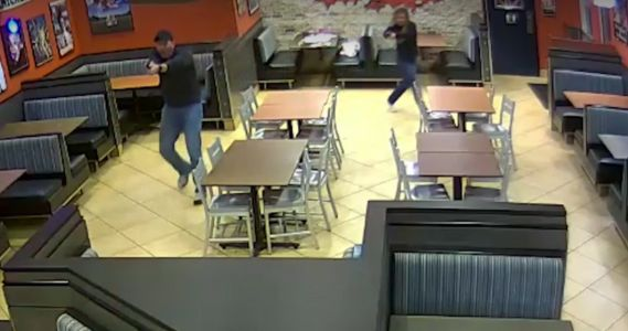 VIDEO: Married off-duty cops pause date night to stop masked robber