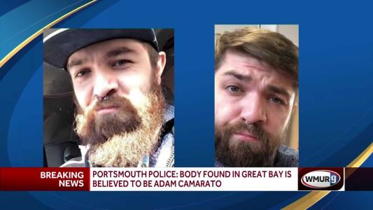 Portsmouth police: Body found on shore of Great Bay believed to be Adam Camarato
