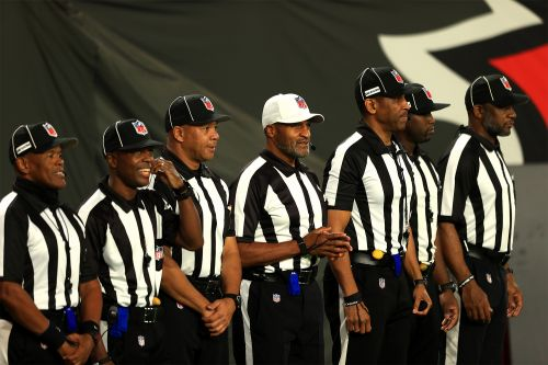 All-black officiating crew works NFL game for first time