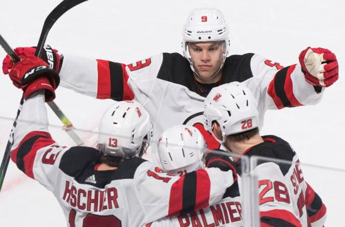 Devils overcome two-goal deficit for overtime win over Canadiens