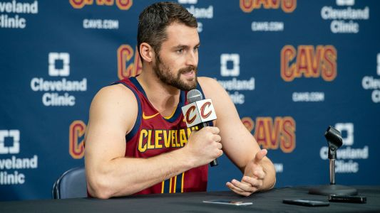 Kevin Love says Cavaliers 'will surprise a lot of people' this season