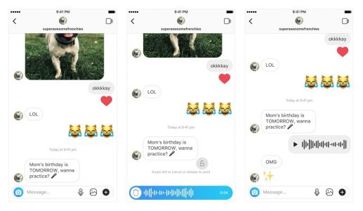 Here's how to use Instagram's new 'walkie-talkie' feature for sending voice messages