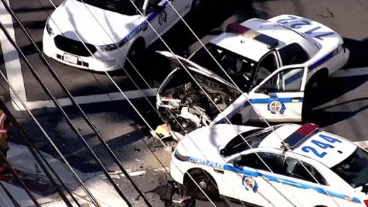 Baltimore County police investigate officer-involved accident in Woodlawn