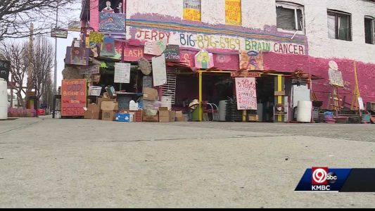 Donation center catches fire and backlash for dangerous activity