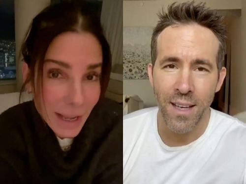 Sandra Bullock and Ryan Reynolds battled over who loves Betty White the most on her 98th birthday