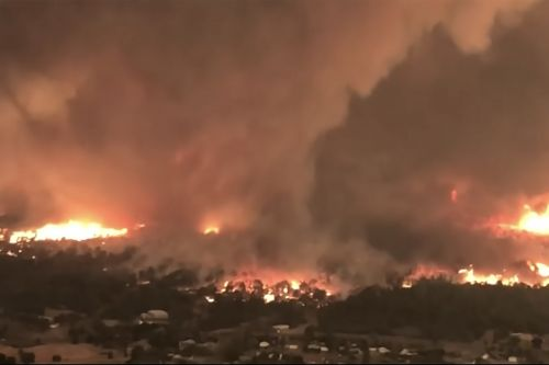 California 'fire tornado' kills two