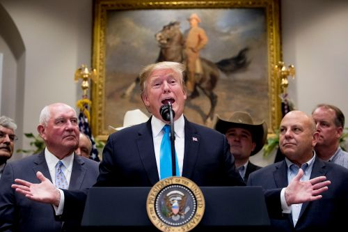 Trump reveals $16B farm aid package amid trade war with China