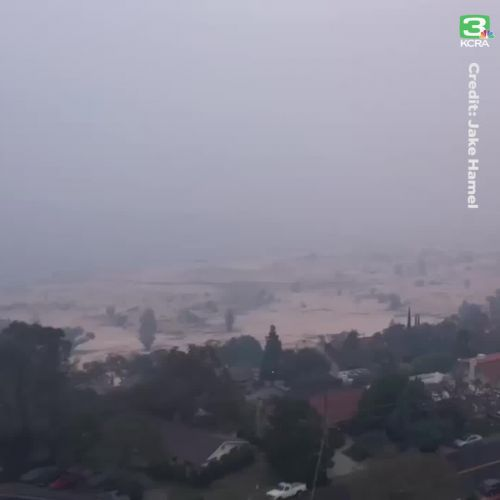 Video: Folsom area blanketed in smoke from Butte County wildfire