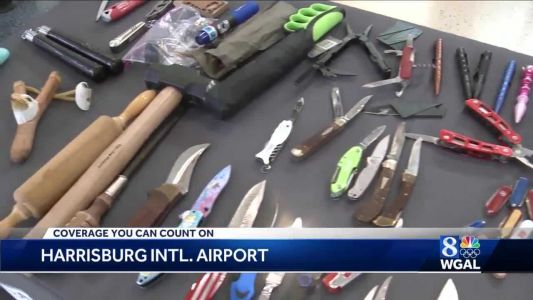 Nunchucks, slingshot, brass knuckles, rolling pin among items confiscated at HIA checkpoint