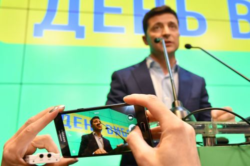 Ukraine's New President Just Won the First Ever Successful Virtual Campaign