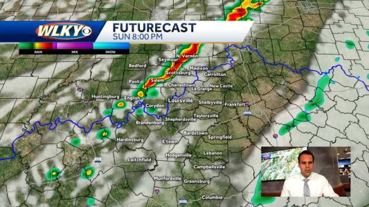 Scattered Storms Possible This Evening