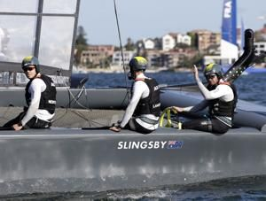 Australia wins opening Sydney SailGP final over Japan