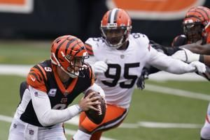 Browns star, league sack leader Garrett not practicing