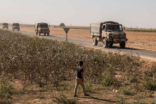 Kurds look to Syria for protection after U.S. pullout