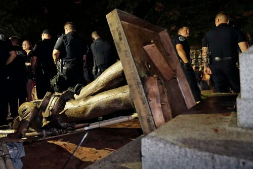 UNC rejects $5M plan to house toppled Confederate statue