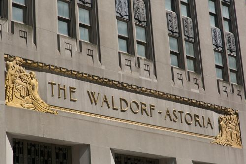 Swanky Waldorf Astoria reopening is delayed a year