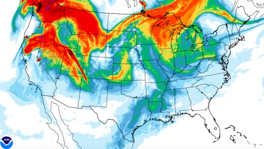 Belski's Blog - Thickest smoke this year for the Ohio Valley today